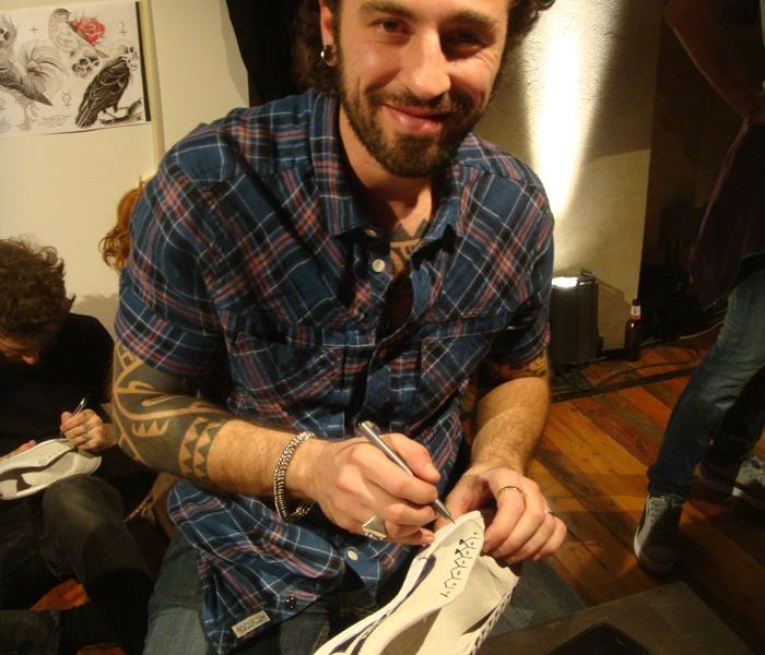 Milano 2011...Ink on Puma suede