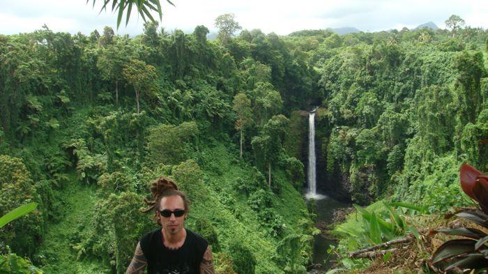 Sopo'Aga Upolu falls, Samoa Island