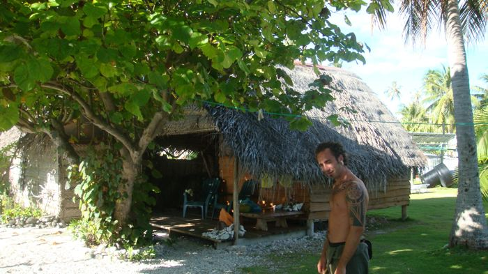 ...My house in Fakarava,Tuamotu Island (french polynesia)