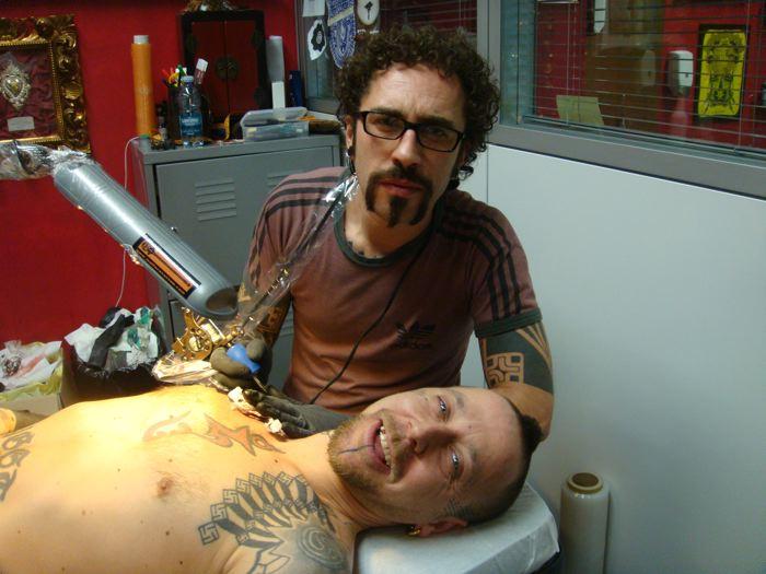 ...Tatuando Marco Galdo!