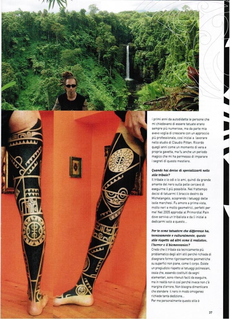 Popolare Press | Wallace Tattoo Studio – Tatuaggi Maori, Marchesani  YK09