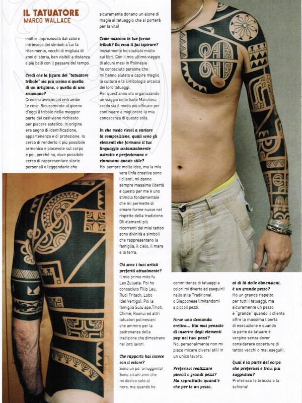 MARCO WALLACE tattoo italia 4.7